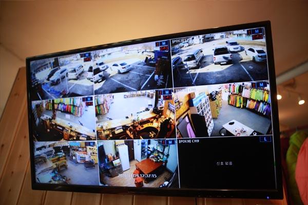 ADT CCTV 설치(이동동선 파악)